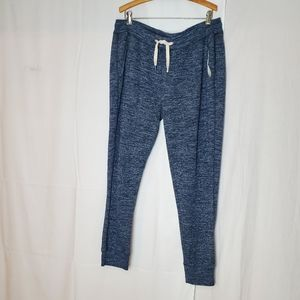 American Eagle Navy Fleece Sweatpants XL